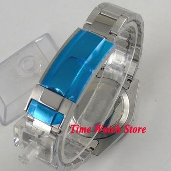 Hände Frei Lupe | 40mm Uhr Fall Fit ETA 2824 2836 Miyota 8215 Bewegung 316L Edelstahl Keramik Lünette Datum Lupe Sapphire Glas C26