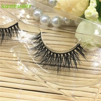 Women A03 pattern False Eyelashes Multi Layer Thick Cross Eye Lashes P30 Jun27