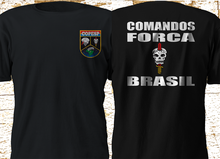2019 Funny Copesp Special Operations Command Brasil Brazil Military Forces Bope Black Double Side Unisex Tee