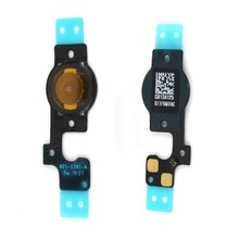 Wholesale 100pcs/lot High Quality New Home Button Flex Cable For iPhone 5 5G Repair Parts Home Flex Cable Ribbon Free Shipping