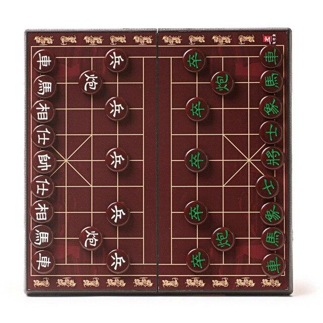 Jeu d'échecs chinois, Imitation de Jade plateau magnétique de haute qualité, 2