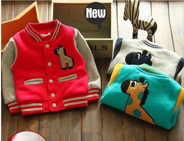 Nueva llegada 2017 niños del otoño del resorte chaquetas muchachos del niño niños niños de la chaqueta al aire libre prendas de vestir exteriores caliente abrigos de invierno clothing
