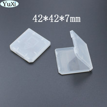 Transparent Hard Plastic Standard SD SDHC Memory Card Case Holder Storage Box Protector(China)