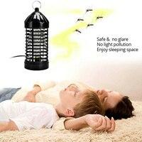 NEW Hot UE/EUA Elétrica Assassino Do Mosquito Fly Bug Insect Zapper Com Armadilha Lâmpada 220 V/110 V