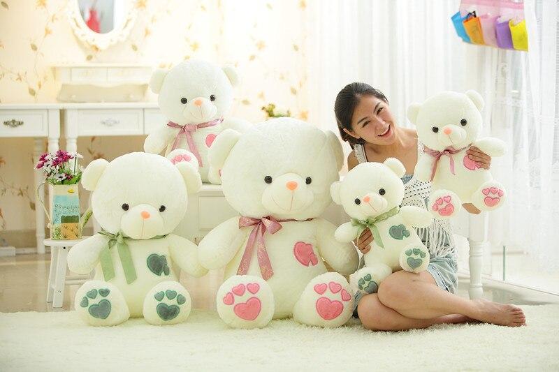 Φ_ΦJuguete de peluche amor del corazón del oso de peluche de juguete ...