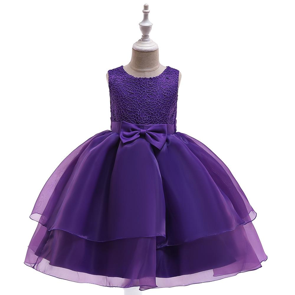 Fille dentelle robes mode princesse robe enfants vêtements elbise robe fille premier anniversaire enfants fête junker saia raiponce falda
