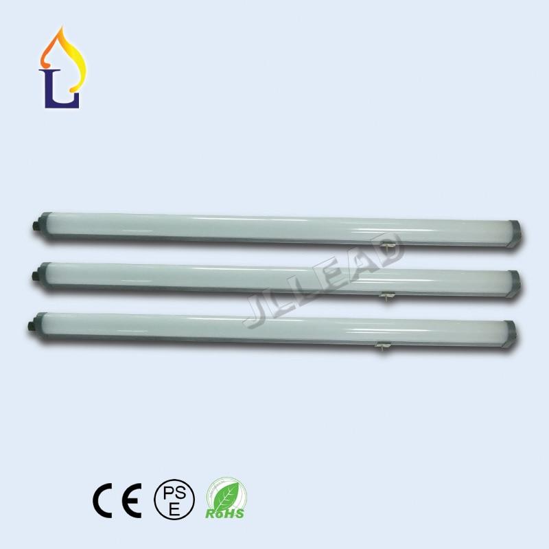 30pcs/lot led Tri-proof light 28W 2FT 55W 4FT 72W 5FT LED Batten Tube Light Surface Integrated Led Tubes Explosion AC110-277V