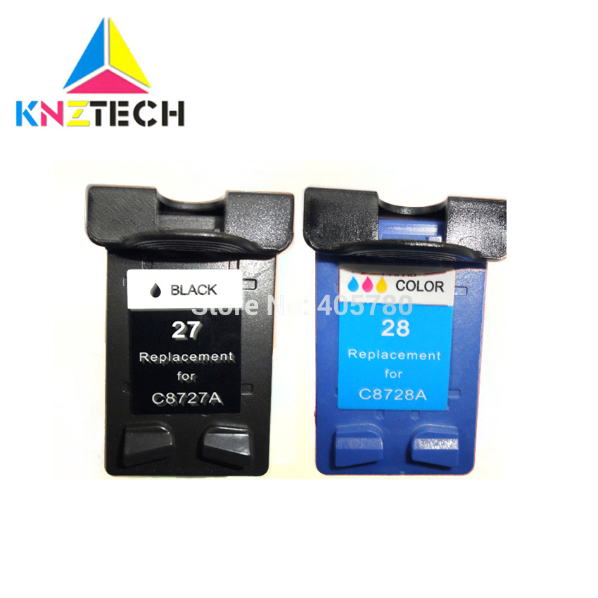 Cartridge For 27 28 Ink Cartridge Hp27 Hp28 For Deskjet 3320 3325 3420 3535 3550 3650 3744 Printer