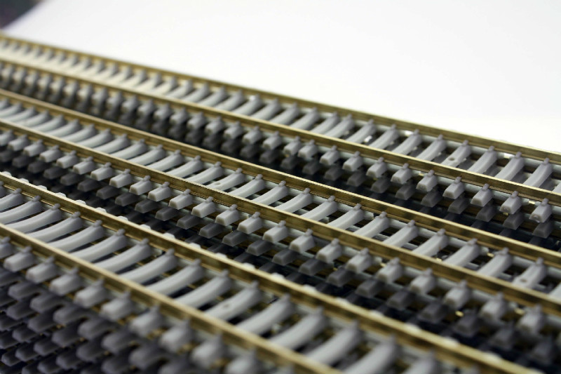 Train Ho 1/87 Scale Metal Track Model Railway Maquette Bois Building Hobby Model Tools
