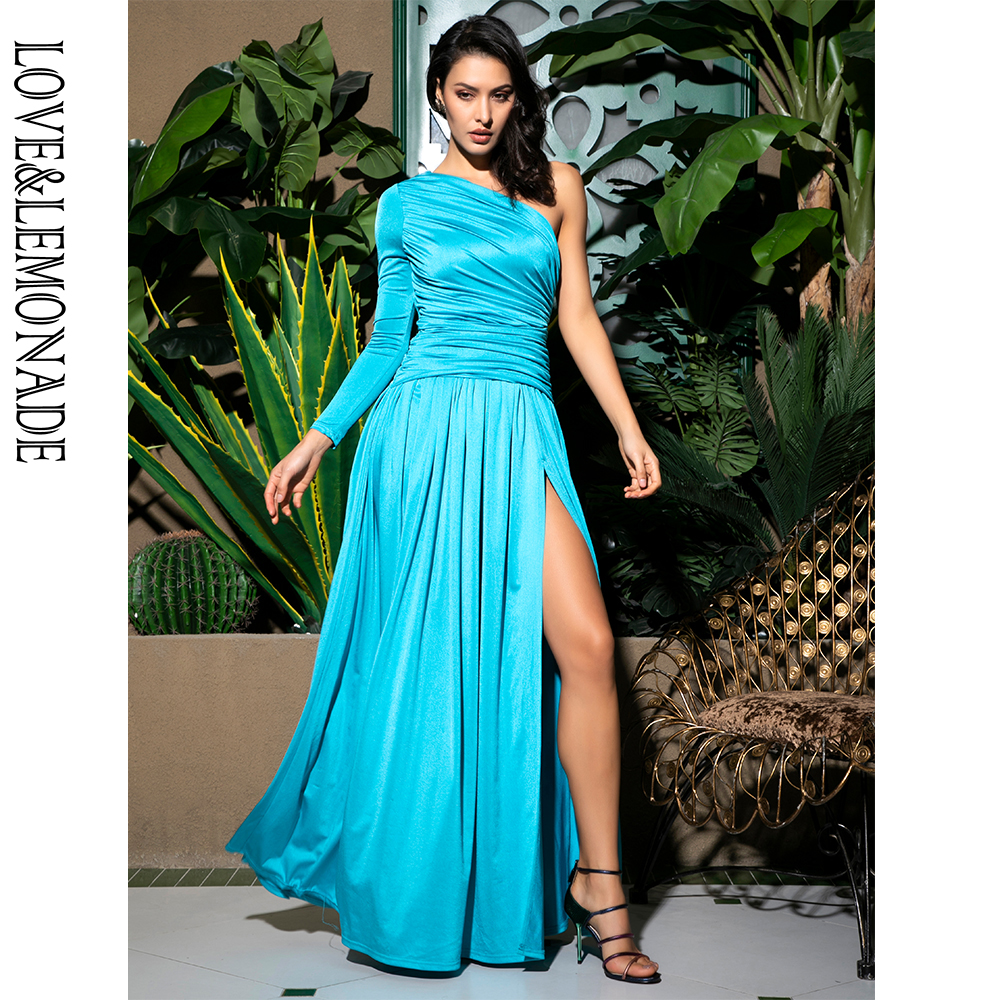 Love&Lemonade Sky Blue Long Dress LM81741