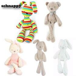 Kawaii Häschen Plüsch Spielzeug Kaninchen Kuscheltiere Puppen Weich Spielzeug Baby Bett Kissen Beschwichtigen Spielzeug Kinder Kinder Geburtstag Ostern Geschenke