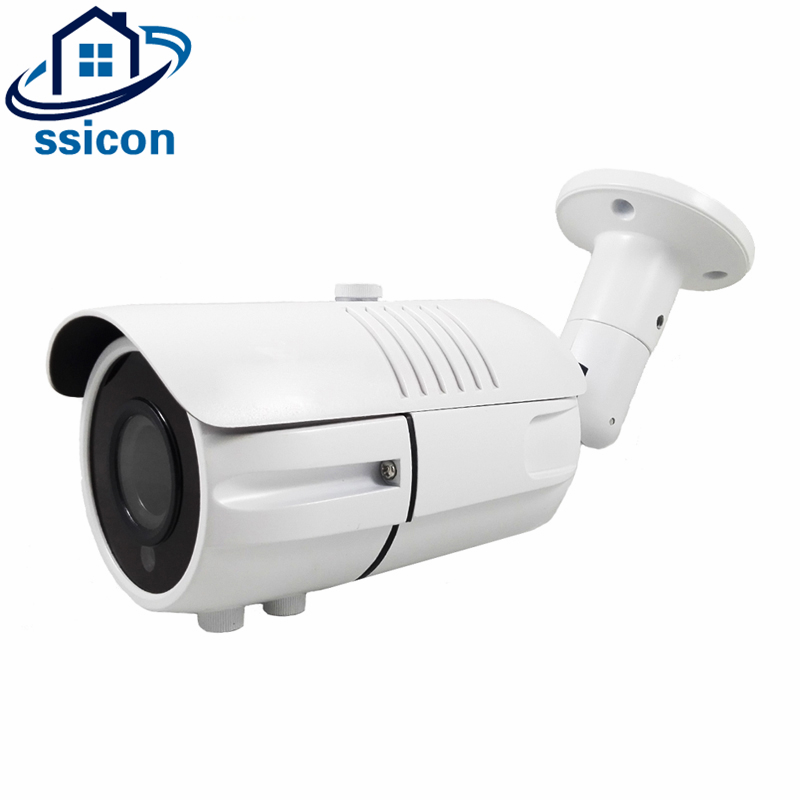 SSICON 5MP Full HD CCTV Zoom 2.8~12mm Lens Security Varifocal AHD Camera Infrared Outdoor Waterproof Bullet Surveillance Camera new cctv ahd security camera auto zoom 2 8 12mm lens varifocal outdoor waterproof bullet surveillance infrared night vision