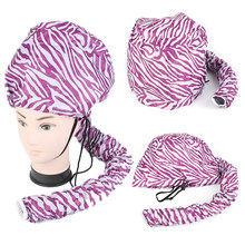 1PC Portable doux sèche-cheveux casquette Bonnet chapeau sèche-cheveux accessoire soins des cheveux coiffure pour Salon maison couleur sèche chapeau