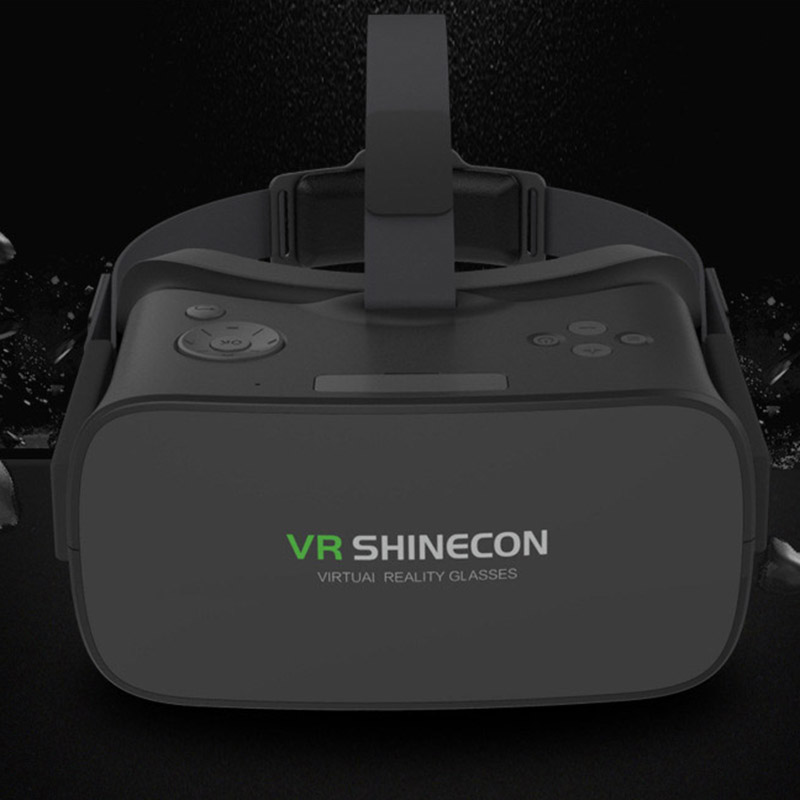 WV Shinecon VR Headset 1280*720 HD Screen Support WIFI USB 8g Rom TF Card up to 32g All in one Shinecon helmet for Vedio