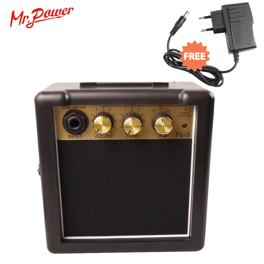 Mini Electric Guitar Amp Portable Electric Guitarra Forstærker Speaker 3W Til Salg 150 D