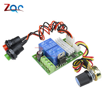 DC 12V 24V 3A 21kHz PWM Motor Speed Regulator Controller Adjustable Control Reversible Relay Module 6V-28V 1203BS - discount item  10% OFF Electrical Equipment & Supplies