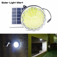 ROXY Outdoor Indoor Waterproof Auto 3 Power Modes Solar Powered LED Shed Light Kit for Garage / Workshop / Cabin Cool White