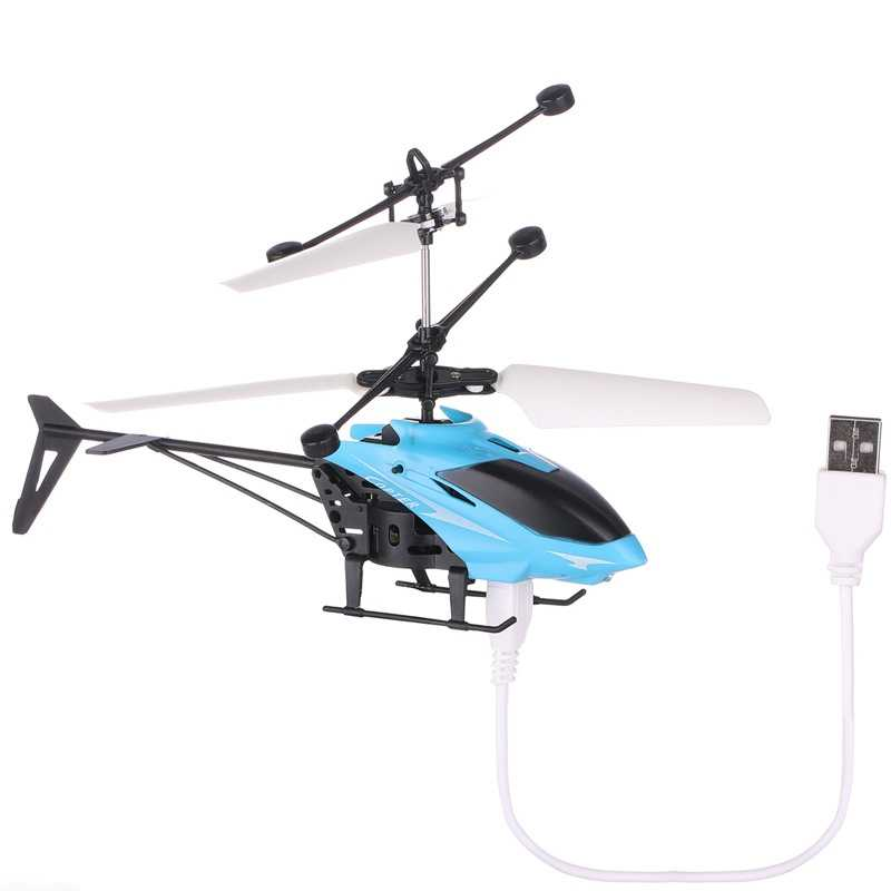 Mini LED Flash Inframerah Induksi Suspensi Pesawat Drone Terbang Helikopter Anak-anak Mainan Anak Mainan Helikopter-TOY153