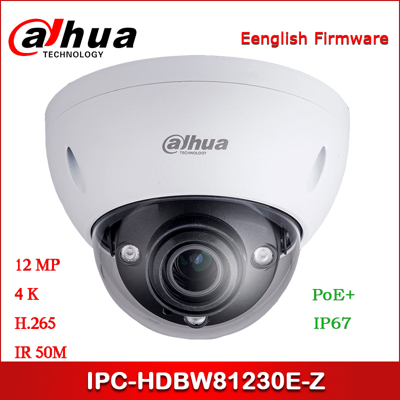 <font><b>Dahua</b></font> <font><b>IP</b></font> <font><b>Camera</b></font> IPC-HDBW81230E-Z <font><b>12MP</b></font> 4.1-16.4mm Zoom lens IR Dome Network <font><b>Camera</b></font> with POE+ Security <font><b>Camera</b></font> image