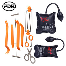 PDR Slotenmaker Levert Luchtpomp Wedge Auto Lockout Tool Kit Lock Pick Set Lock Opener Car Radio Panel Removal Tools deur Opening(China)