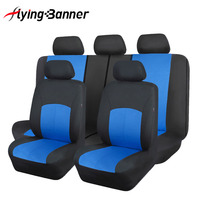 2018 Brand Polyester Fabric Universal Car Seat Cover Set Car Styling Fit Most Car Interior Accessories