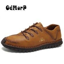 Männer Leder Schuhe Braun Freizeitschuhe Handgefertigte High Qualität Lace Up Schuhe Mode-Design Komfort Herrenschuhe