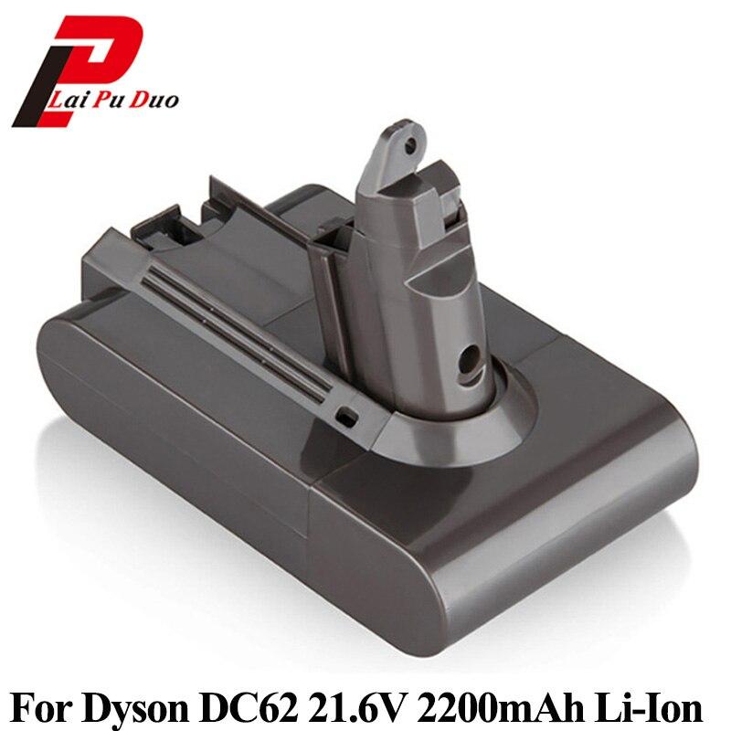 21.6 v 2200 mah Batteria di Ricambio per Dyson Aspirapolvere DC58 DC59 DC61 DC62 Animale V6 Aspirapolvere Batteria Li-Ion