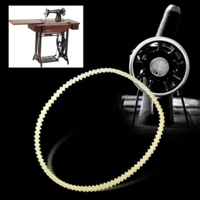 2pcs Nylon Household Sewing Machines Motor Drive V Belt For Vintage Home Sewing Machine Belts 32.5cm/34cm/35.5cm At Random Color