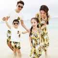 Beach Family Matching Outfits Mother/Mom and Daughter Dress Family Clothing Father and Son Clothing Sets Family Dresses CY36