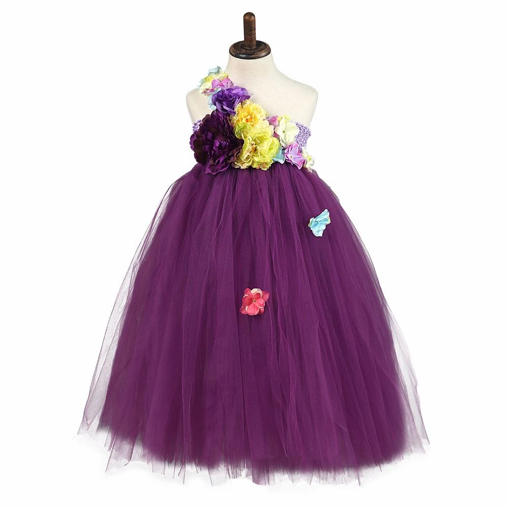 Vestito dal tutu dello spettacolo delle ragazze di fiore per nozze - Vestiti per bambini