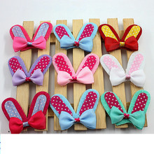 10PCS new design grosgrain bow hairpin childrens headdress baby mini girl hair accessories