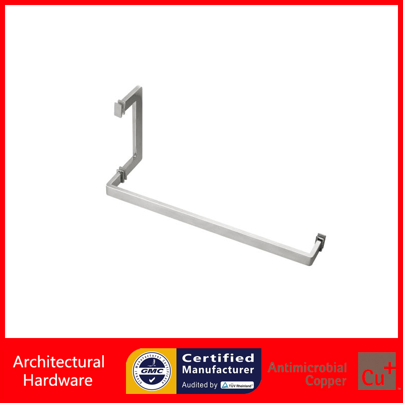 Shower Door Pull Handle 304 Grade Stainless Steel Polished Available For Glass Doors Of Bathroom PA-645-25*10*205*460mm mini stainless steel handle cuticle fork silver