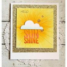 Sunshine Clouds Raindrop Set  Metal Cutting Dies Stencils For DIY Scrapbooking/Photo Album Decorative Embossing Paper Cards
