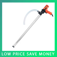 220V 720W Vertical Portable Pump Centrifugal Barrel Electric Fuel Pumping Machine With Pipe A