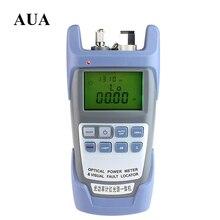 2 В 1 Волоконно-оптический измеритель Мощности с 10 км Лазерный источник Визуальный дефектоскоп 9A-10mw