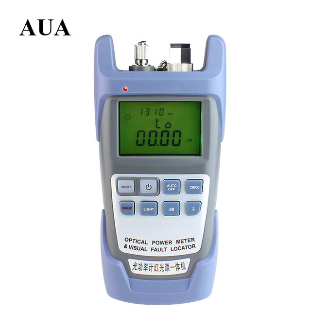 2 IN 1 Fiber Optic Power meter with 10km Laser source Visual Fault locator 9A-10mw