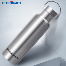 Feijian Sports Thermos bottle Stainless Steel Insulated Outdoor Drinking Water Bottle Vacuum flask travel kettle shaker цена и фото