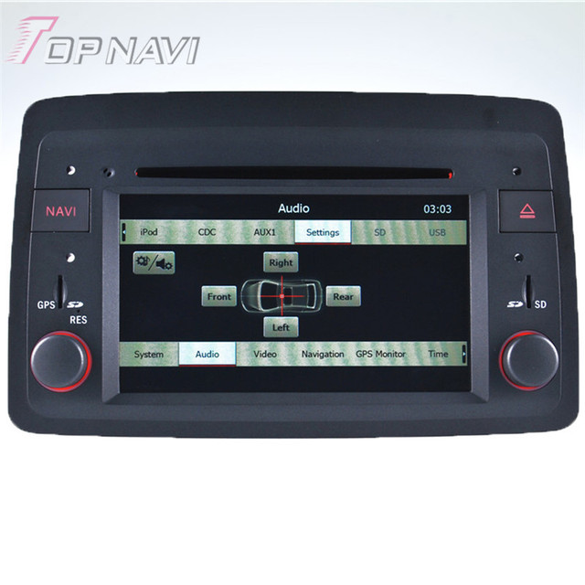 Estremecer Carro Estéreo de Rádio Para Fiat Panda: 2004 em diante Desenvolvimento Auto Carro Eletrônica Do Carro PC GPS Navigation DVD Player De Vídeo de Áudio