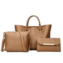 SGARR/высококачественные женские Сумки из искусственной кожи; модные повседневные женские сумки; комплект из 3 предметов; сумка на плечо; Новинка; известный дизайнер; женские сумки