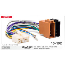 Head-Cable CLARION Carav for AX-DB-DXZ Stereo Radio-Wire Adapter-Plug Wiring-Connector
