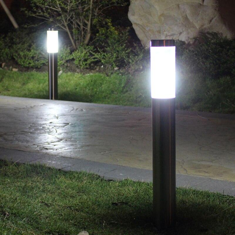 Luz LED para jardín DONWEI, luz LED para exteriores, impermeable, luz para césped y jardín, iluminación decorativa para Sendero de jardín de la Comunidad