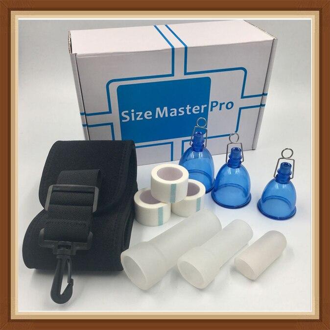 Vacuum ball Size Master Pro MAX Male PENIS ENLARGEMENT Stretcher Extender Enlarger Hanger Enhancement Pump SizeMaster