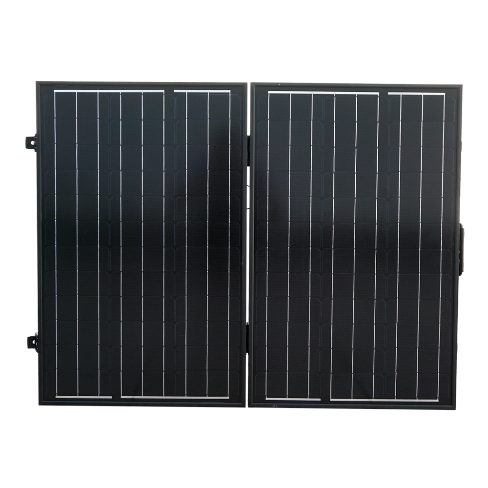 120W 12V PV Folding Mono Solar Panel for Home Outdoor Camping Hiking RV Boat Solar Generators 2pcs 4pcs mono 20v 100w flexible solar panel modules for fishing boat car rv 12v battery solar charger 36 solar cells 100w