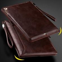 купить Case For iPad Pro 10.5 Luxury Leather Business Folio Stand Pocket Auto Wake Smart Cover With Lanyard For ipad Pro 10.5 Case онлайн