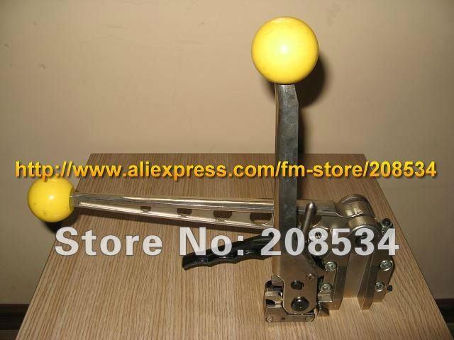 Commercio all'ingrosso SMK-25 Utensile manuale per reggette in acciaio con combinazione senza tenute, metallo senza guarnizioni Reggiatrice per fasciatrice per 13-25mm