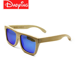 Bamboo Sunglasses Frame Wood-Lens Retro Vintage Hot-Sale Men Women New LUB104 DAOYING