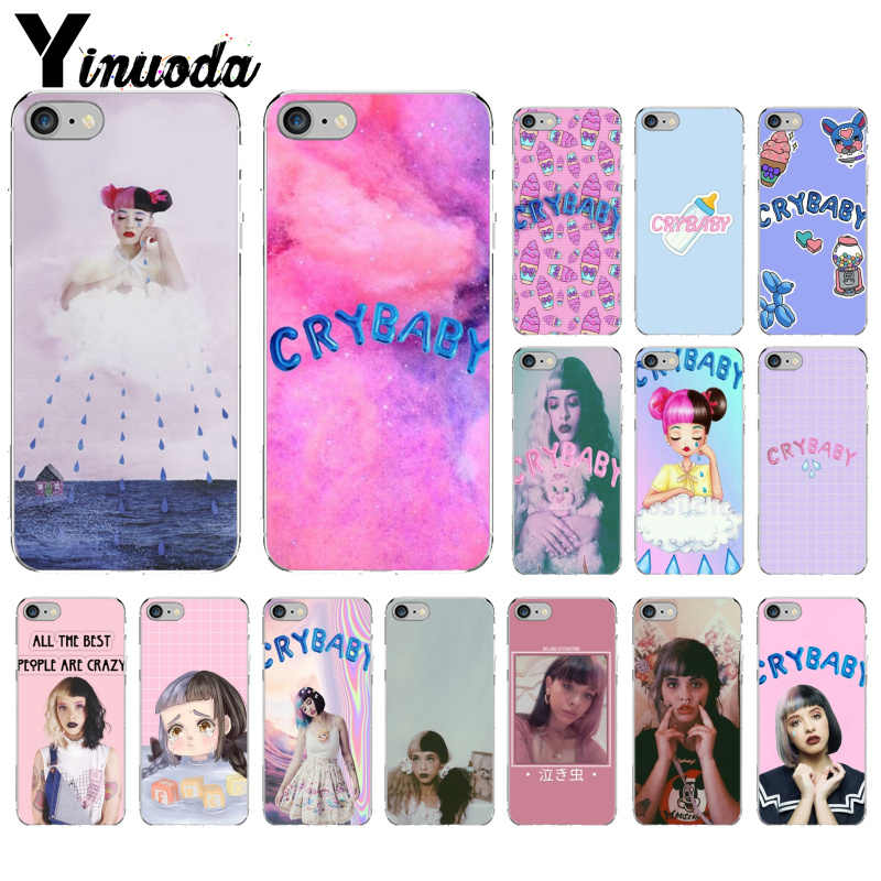 Melanie Martinez Yinuoda Cry baby Silicone Macio preto Phone Case para iPhone 5 5Sx 6 7 7plus 8 8 mais X XS MAX XR