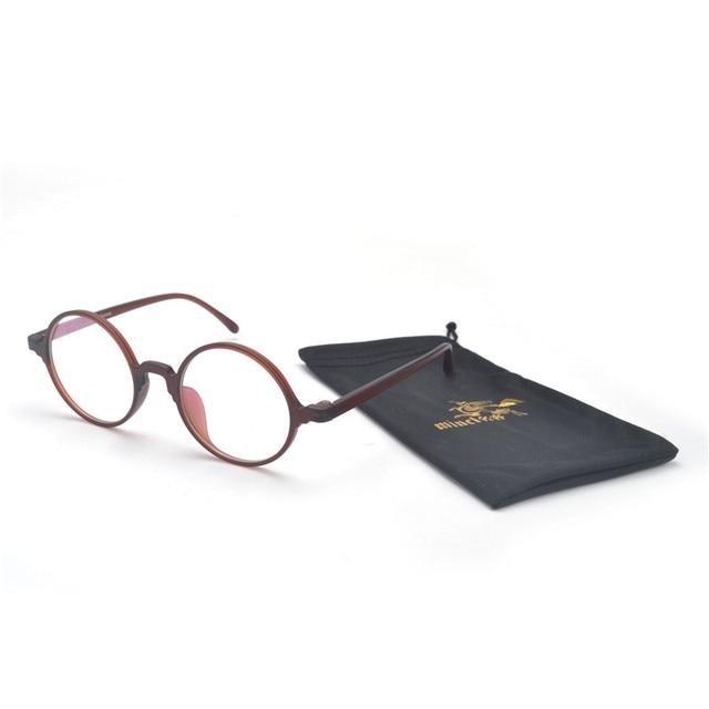 0320ff0fd41 MINCL  Vintage Round Eyeglasses Optical Glasses Frame Clear Glasses Myopia Eyeglass  Frames Spectacles For Women Men FML