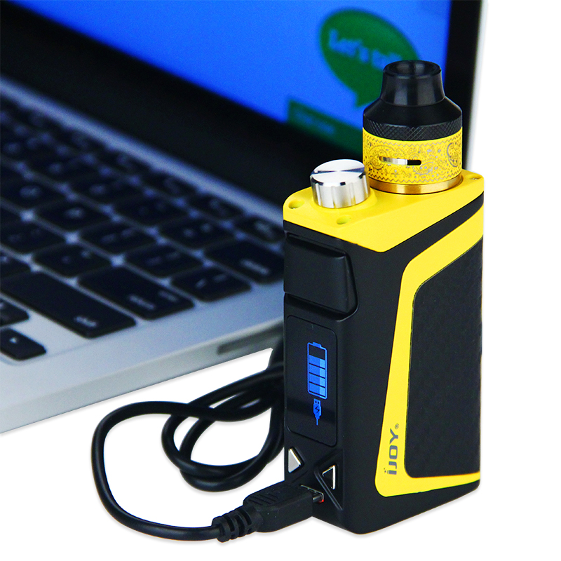 IJOY RDTA boîte Mini Kit complet 100 W 2600 mAh batterie intégrée 6 ml avec cadeaux gratuits Vapeonly étui de transport en cuir e-cigs Vape - 4