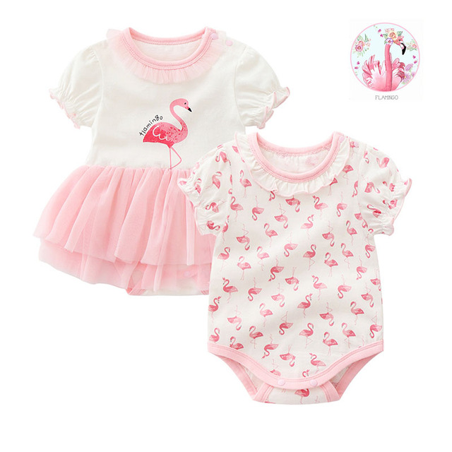 new born baby girl clothes&dresses summer pink princess little girls clothing sets for birthday party 0 3 months robe bebe fille 3